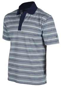 Soutěž o Stuburt triko Clubhouse Mercerised Stripe Polo