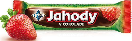 Soutěžte o 3 balíčky novinky Jahody v čokoládě a dalších dobrot ORION - www.chytrazena.cz