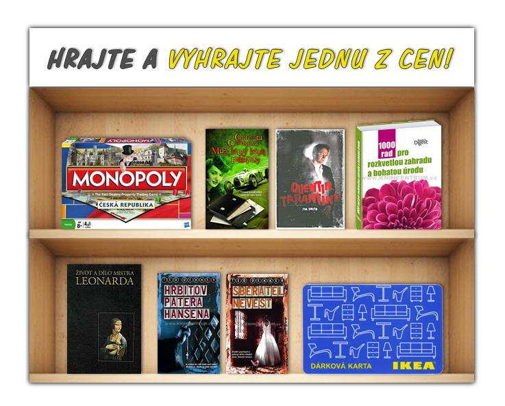 Vyhrajte poukázku do IKEA společenskou hru Monopoly nebo knihy! - www.zaplotem.cz