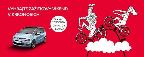 Vyhrajte víkend v novém Grand C4 Picasso  - www.citroen-praha.cz