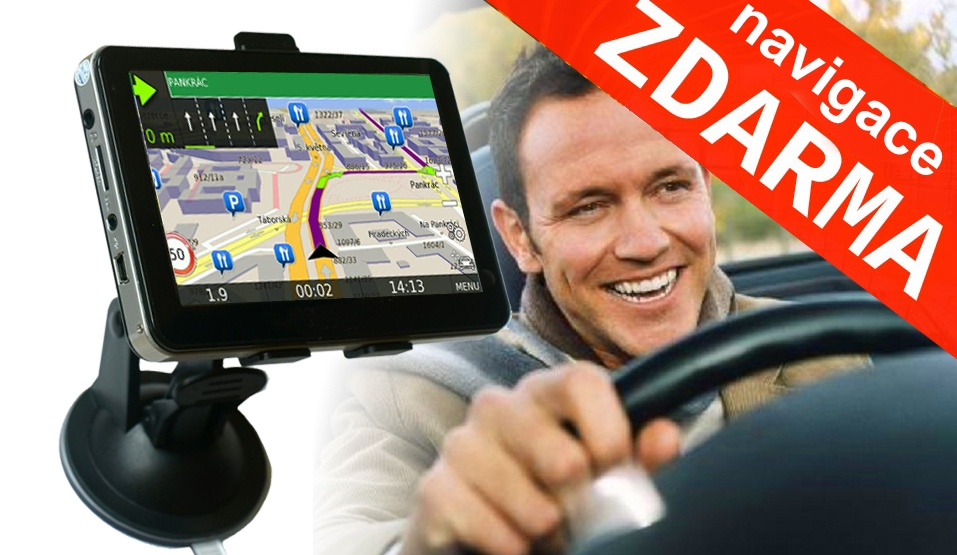 Vyhraj dotykovou GPS navigaci Soutěž o 5 GPS navigaci s s dotykovým displejem v češtině. K tomu doživotní aktualizace map ZDARMA! - www.justjoy.cz
