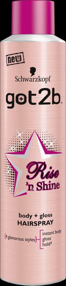 Soutěžte o novinku got2b Rise 'n Shine - www.salony-krasy.cz