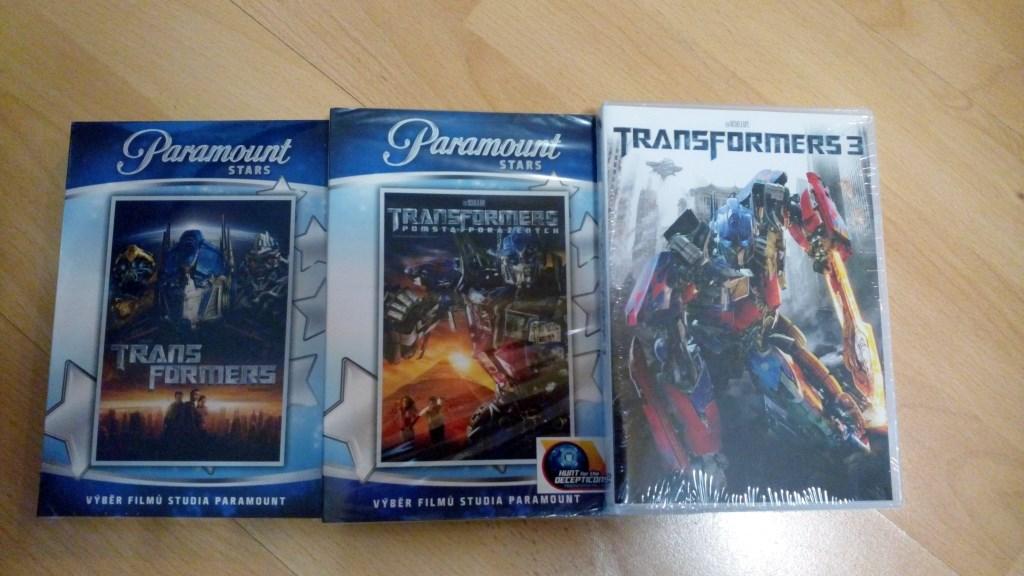 Soutěž na červenec s filmy Transformers  na DVD. - www.filmcz.info