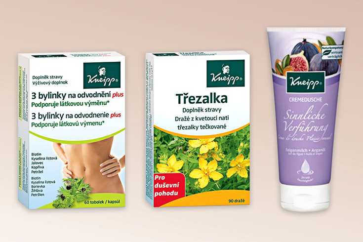Křížovka o doplňky stravy a sprchový gel značky Kneipp - www.vyhranasedm.cz