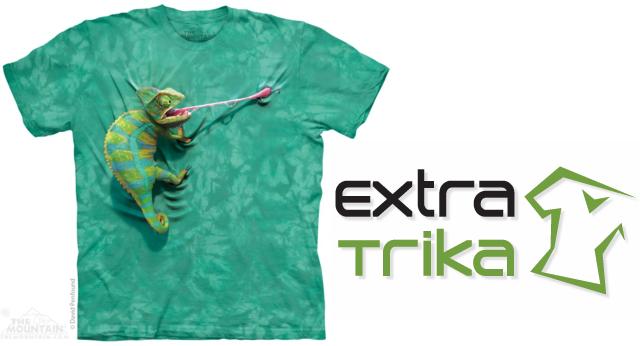 Soutěž o tričko s chameleonem - www.ExtraTrika.cz