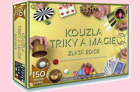 Vyhrajte novou kouzelnickou sadu Pavla Kožíška Zlatá edice! - www.chytrazena.cz