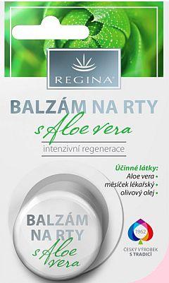 Soutěž o novinku Balzám na rty s Aloe vera od Reginy - www.chytrazena.cz
