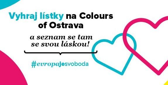 Vyhraj l�stky na Colours of Ostrava #EvropaJeSvoboda - ec.europa.eu/ceskarepublika/index_cs.htm
