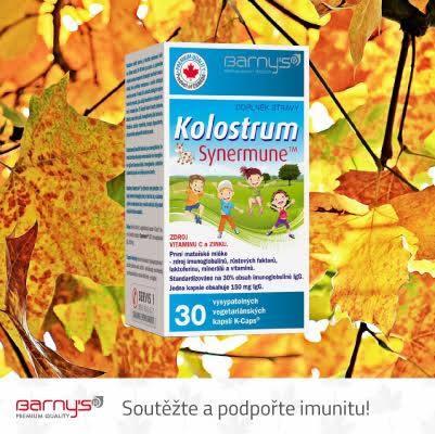Vyhrajte Kolostum Synermune 30 kapsl� pro podporu imunity!  - www.barnys.cz