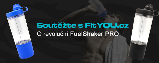 Sout� o revolu�n� FuelShaker PRO: Shaker kter� usnadn� v� fitness �ivot! - www.fityou.cz