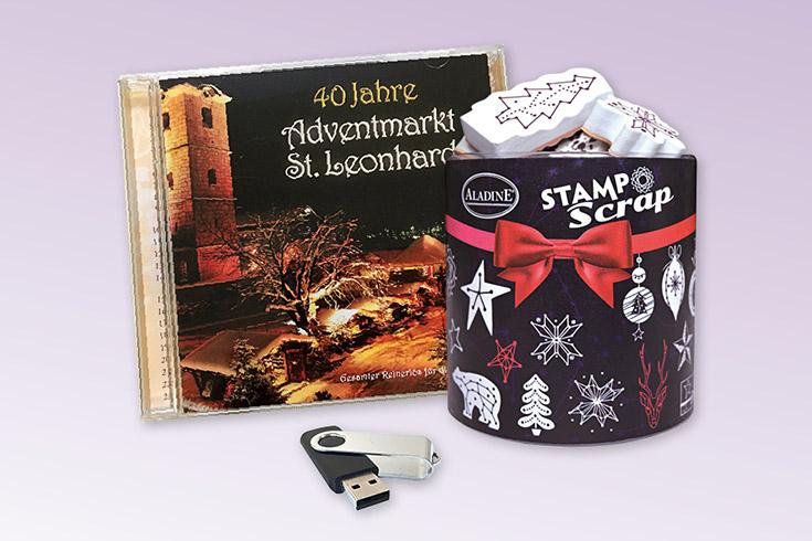 Křížovka o razítka 2 vánoční CD a flash paměť - www.vyhranasedm.cz