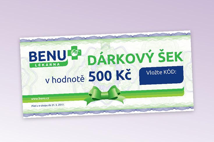 Křížovka o voucher do BENU e-shopu - www.vyhranasedm.cz