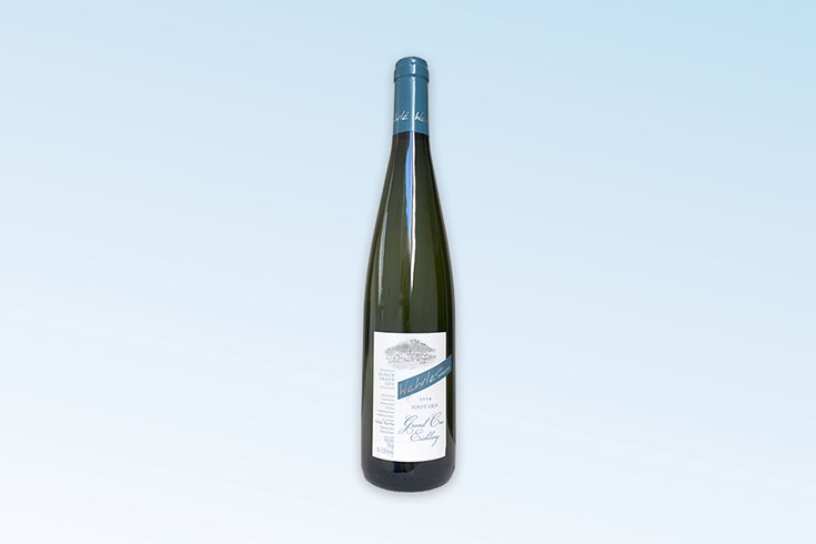 Křížovka o luxusní víno Pinot Gris 2014 z vinařství Wehrlé - www.vyhranasedm.cz