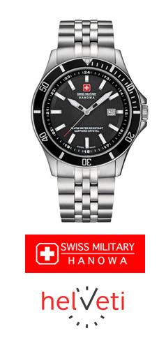 Soutěžte s Helveti.cz o pánské švýcarské hodinky Swiss Military Hanowa - www.helveti.cz