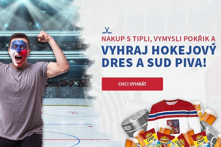 Vymyslete pokřik na MS v hokeji a vyhrajte hokejový fanset za 3 000 Kč ZDARMA! - www.tipli.cz