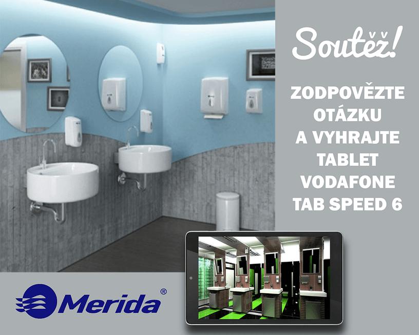 Soutěž s Meridou HK o tablet Vodafone Tab Speed 6 - https://www.facebook.com/Merida.cz/