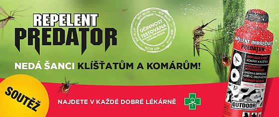 Soutěž o Repelenty PREDATOR 3D a Impregnace - www.chytrazena.cz