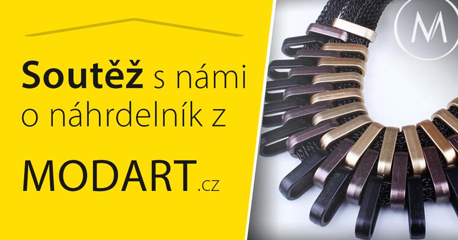 Soutěž o designový náhrdelník. - www.modart.cz