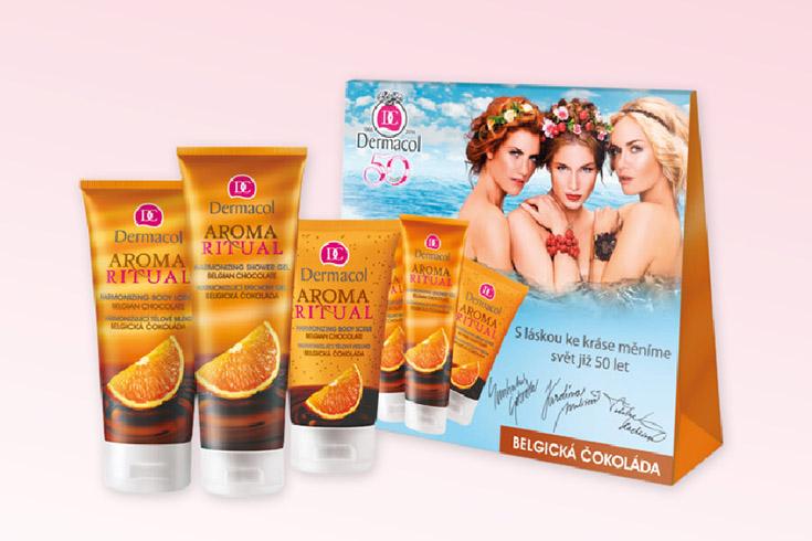 Křížovka o kosmetiku Dermacol s čokoládou - www.vyhranasedm.cz