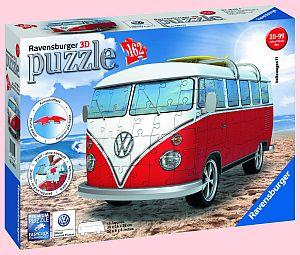 Soutěž o Ravensburger 3D puzzle model kultovního auta Volkswagen T1 - www.chytrazena.cz