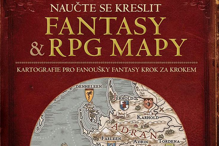 Vyhrajte knihu Naučte se kreslit fantasy a RPG mapy! - www.klubknihomolu.cz