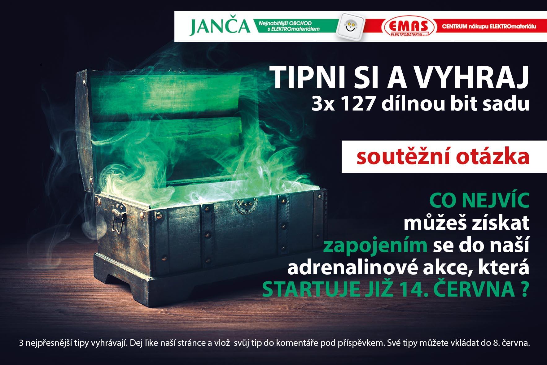 TIPNI SI A VYHRAJ 127 dílnou sadu bitů od NAREX - www.jancaelektro.cz