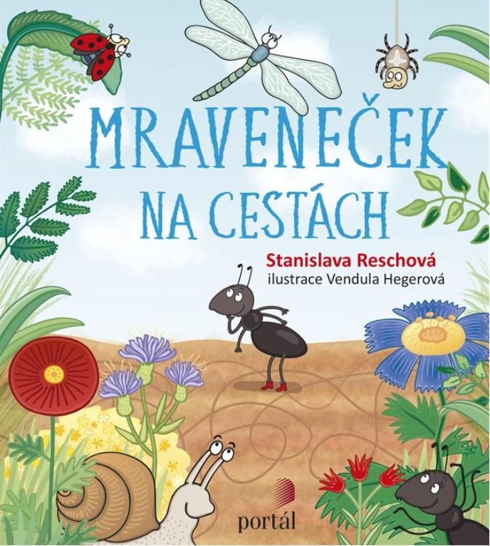 Soutěž o knihu Mraveneček na cestách  - www.vaseliteratura.cz