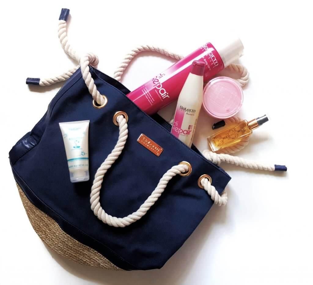 Soutěž o vlasovou kosmetiku Salerm a luxusní plážovou tašku - www.inhair.cz