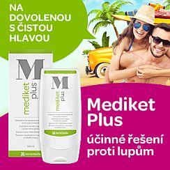 Soutěž o šampony Mediket Plus proti svědění hlavy a lupům - www.chytrazena.cz
