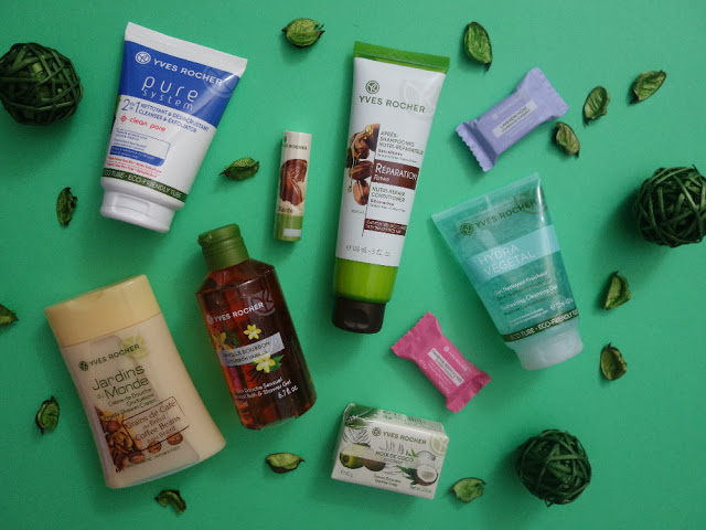 Soutěž o balíček rostlinné kosmetiky Yves Rocher - www.allmycosmetics.cz