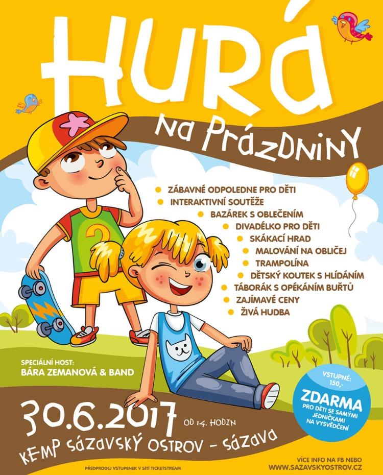 Soutěž o vstupenky na akci Hurá na prázdniny - www.ententyky.cz