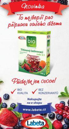 Soutěž o balíčky plné pomocníků k výrobě džemů a marmelád Labeta - www.chytrazena.cz