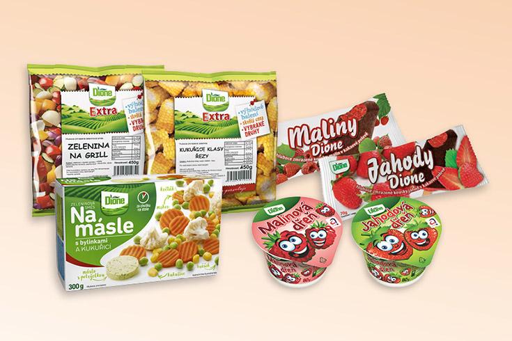 Křížovka o balíček mražených potravin značky Dione - www.vyhranasedm.cz