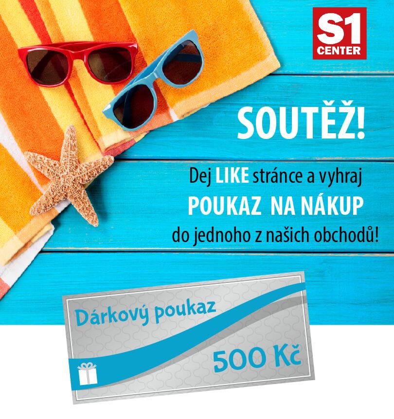 Soutěž o 500Kč poukázky na nákup  - https://www.facebook.com/N%C3%A1kupn%C3%AD-park-Chomutov-251119704918920/