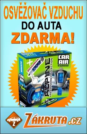 Soutěž o osvěžovače do auta a LED svítilnu - www.zakruta.cz