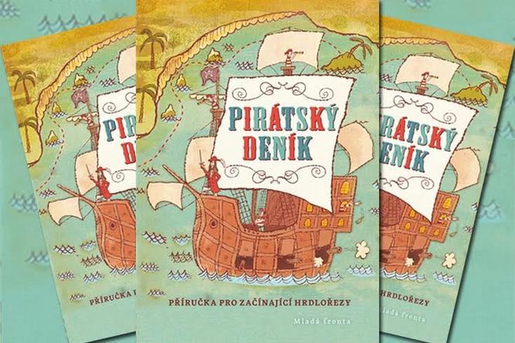 Vyhrajte knihu pro děti Pirátský deník - www.klubknihomolu.cz