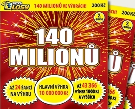 Soutěž o 10 losů každý v hodnotě 200- Kč - www.cislasportky.cz
