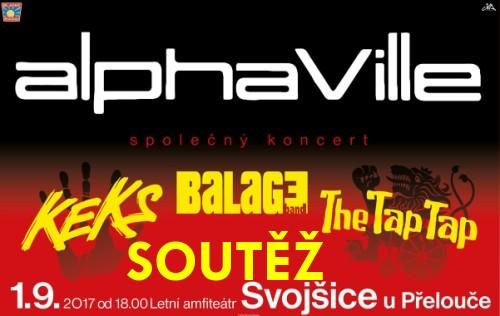 SOUTĚŽ o vstupenky na koncert ALPHAVILLE - www.chrudimka.cz
