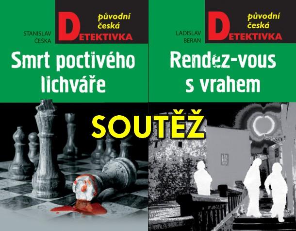SOUTĚŽ o dvě původní české detektivky z nakladatelství MOBA - www.chrudimka.cz