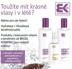 Soutěž o vlasovou kosmetiku s kokosovým a makadamiovým olejem od Brazil Keratin - www.chytrazena.cz