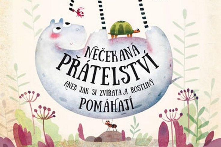 Vyhrajte knihu pro děti Nečekaná přátelství - www.klubknihomolu.cz