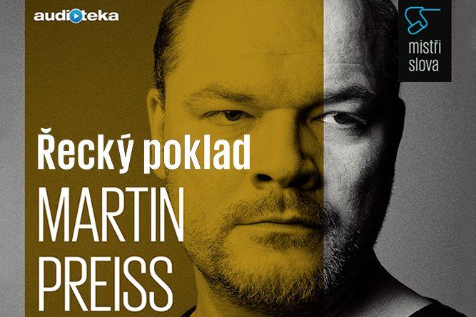 Vyhrajte tři stažení audioknihy Řecký poklad - www.klubknihomolu.cz