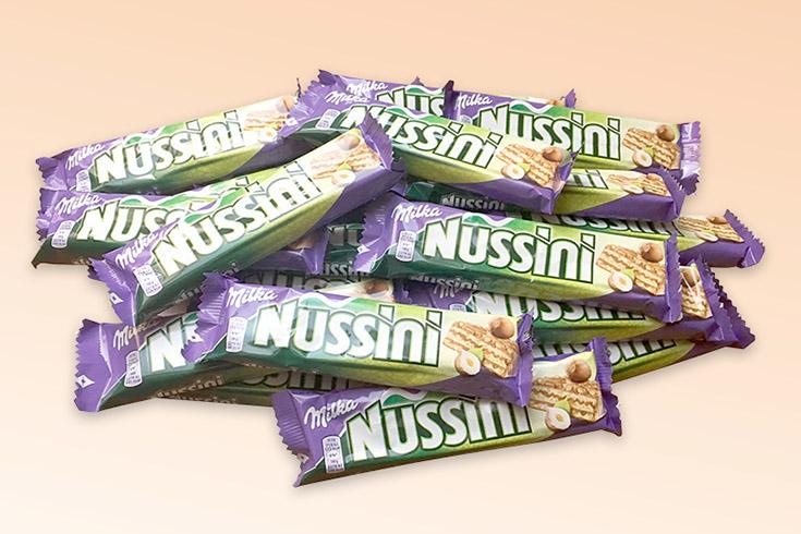 Křížovka o čokoládové tyčinky Milka Nussini - www.vyhranasedm.cz