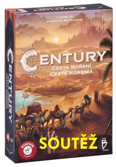 SOUTĚŽ o deskovou hru CENTURY: cesta koření - www.chrudimka.cz