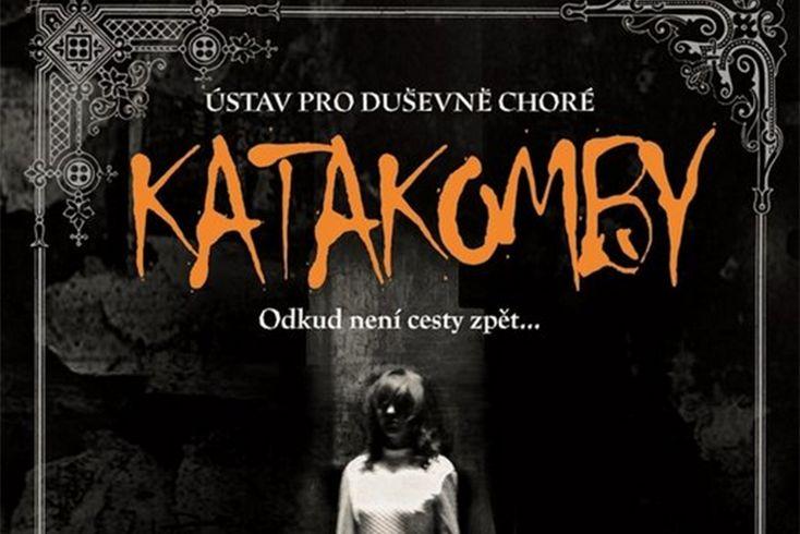 Vyhrajte tři hororové příběhy Katakomby - www.klubknihomolu.cz