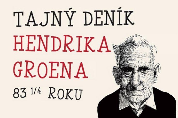 Vyhrajte dvě humorné knihy Tajný deník Hendrika Groena - www.klubknihomolu.cz