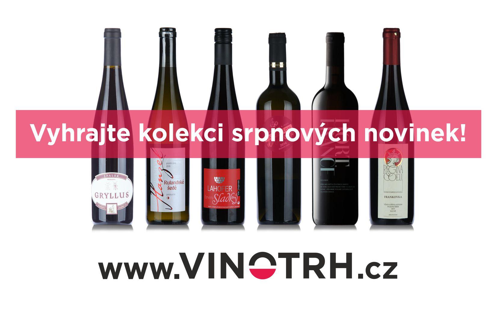 Vyhrajte šest lahví moravského vína! - www.vinotrh.cz