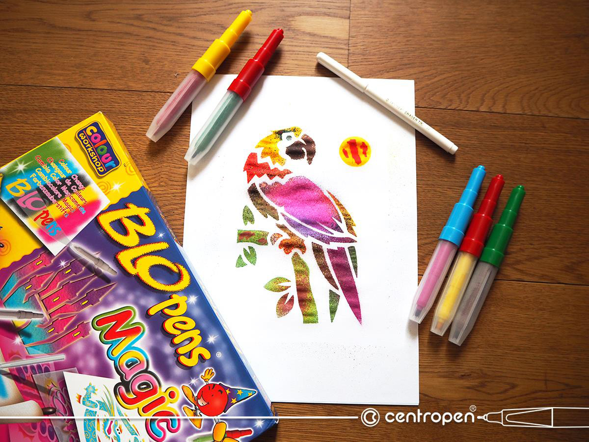 Vyhrajte 3 dárkové balíčky CENTROPEN pro psaní kreslení a malování - www.designportal.cz