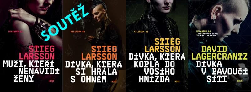 SOUTĚŽ o knižní sérii MILÉNIUM z nakladatelství HOST - www.chrudimka.cz