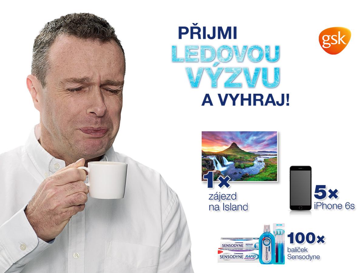 Sensodyne - Přijmi ledovou výzvu - www.sensodyne.cz